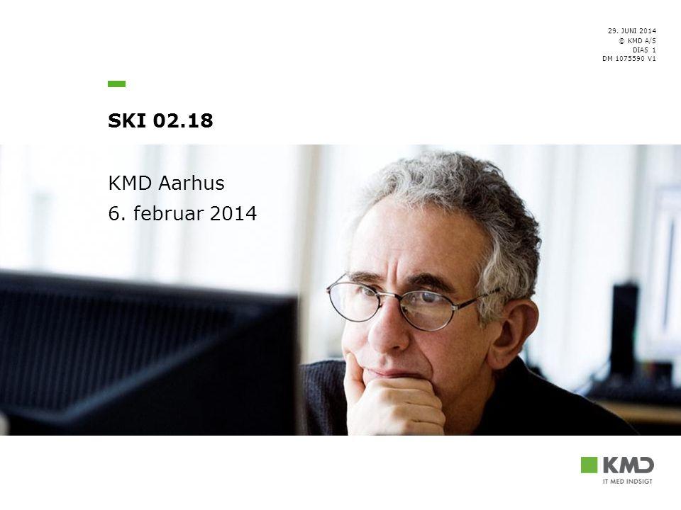KMD Aarhus 6. februar 2014 [Forfatter/Ansvarlig]